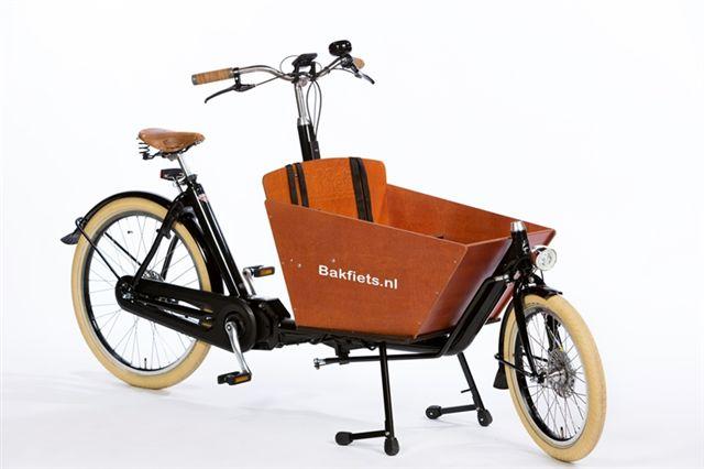 Bicicleta de Carga Bakfiets E-Cargo Bike Cruiser Short Steps Go By Bike
