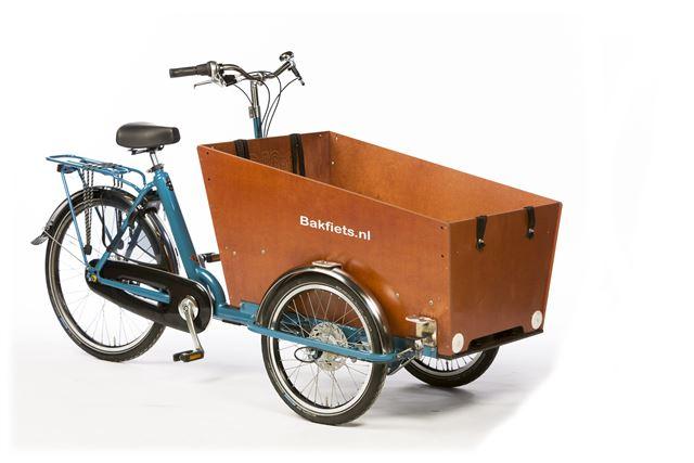 Bicicleta de Carga Bakfiets Cargo Trike Classic Narrow Go By Bike