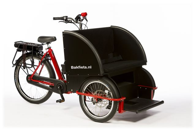 Bicicleta Carga E-Bike Bakfiets Rickshaw Go By Bike