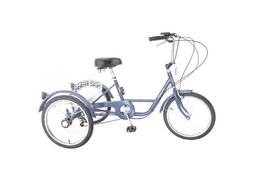 Bicicleta Triciclo Adulto Cidade Amat Go By Bike