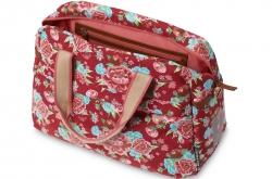 Alforge bicicleta Basil Bloom Girls Carry All Bag 11lt -Scarlet Red