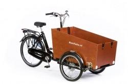 Bicicleta de Carga Bakfiets Cargo Trike Classic Wide Go By Bike