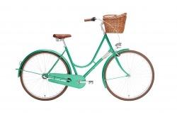 Bicicleta Pasteleira Cidade Classica Urbana Creme Holymoly Solo Emerald Go by Bike