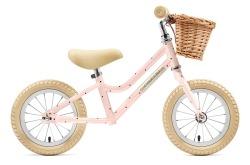 Bicicleta Equilíbrio Creme Cycles Mia Pale Peach 12'' Go By Bike