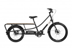 Bicicleta Elétrica Creme Happy Wagon Black Go By Bike