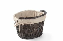 Creme Wicked Basket Small Black Go By Bike