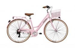 Bicicleta Clássica Cicli Adriatica City Retro Pink Go By Bike