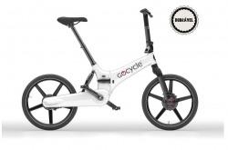 Bicicleta Elétrica Dobrável Go Cycle GXi White Go By Bike