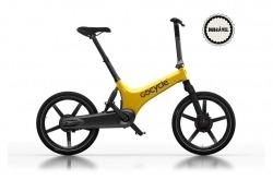 Bicicleta Elétrica Dobrável Go Cycle G3C Yellow Limited Edition Go By Bike