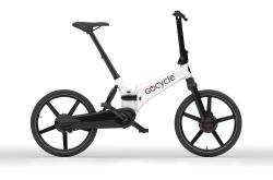 Bicicleta Elétrica Dobrável Go Cycle GX White Go By Bike