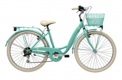 "Bicicleta Adriatica Panda Verde 26"" Go by Bike"